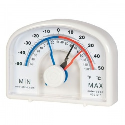large max - min thermometer