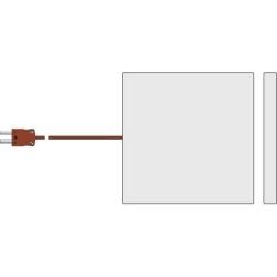 Food simulant temperature probe