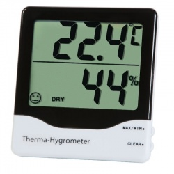 Therma-Hygrometer thermometer & hygrometer ideal for the home, office or factory