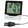 Therma-Hygrometer with internal & external temperature probe