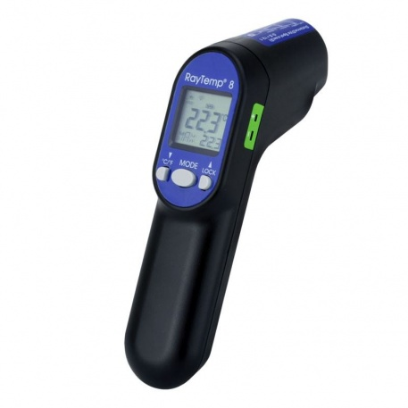 RayTemp® 8 infrared thermometer with type K thermocouple socket