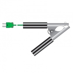 pipe clamp temperature probe - HVAC probe