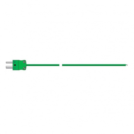 heavy duty PTFE wire probe - type K