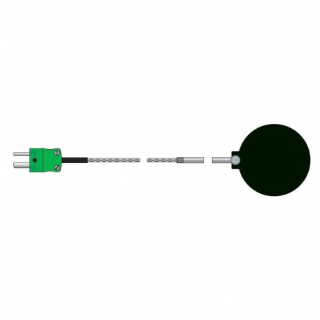 black ball temperature probe