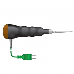 Waterproof Thermocouple Penetration Probe