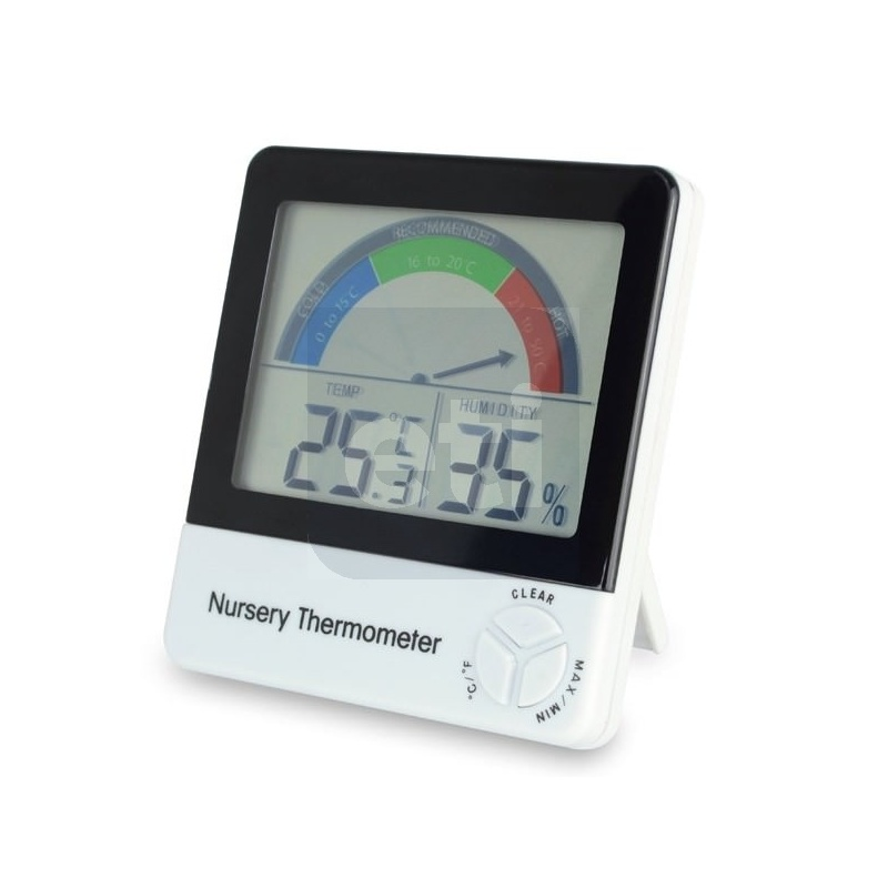 Nursery Thermometer  for monitoring a baby\u2019s room temperature