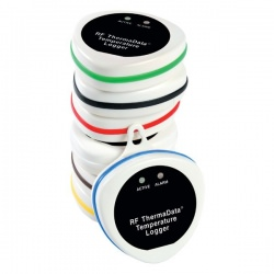 Data logger colour coded seals