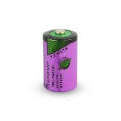 half AA lithium battery - 3.6v