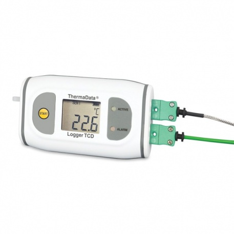 Thermocouple ThermaData® loggers for high temperature applications