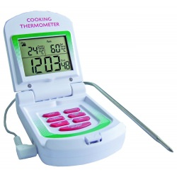 Imagén: Digital Cooking Thermometer/Clock/Timer