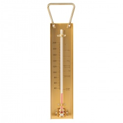 Brass Sugar and Jam Thermometer
