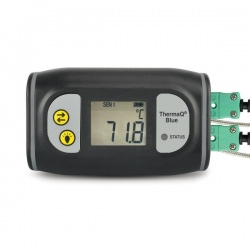 ThermaQ Blue thermometer with Bluetooth LE - monitors temperature remotely