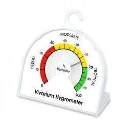Vivarium hygrometer with 70mm dial