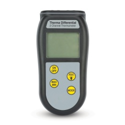 Therma Differential Thermometer two channel, T1 or T2 or T1 minus T2 differential