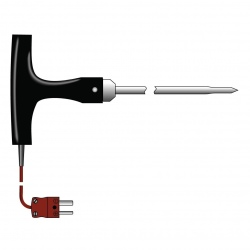 penetration probe T-shaped