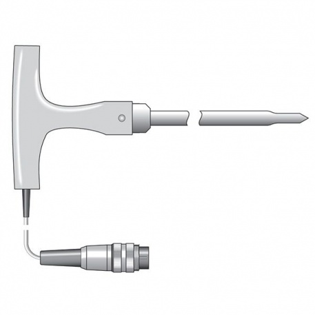 heavy duty NTC thermistor probe with T-shaped handle