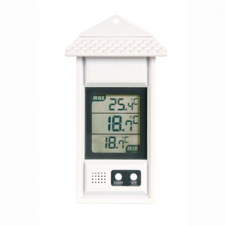 Digital Max Min thermometer for home, office or garden