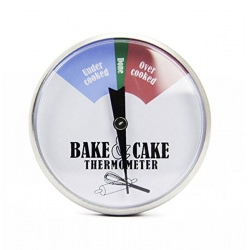 Imagén: Stainless Steel Cake & Bake Thermometer 45mm Dial