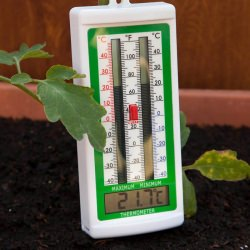 Max Min Thermometer with internal temperature sensor