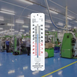 factory act thermometer - 45 x 195mm