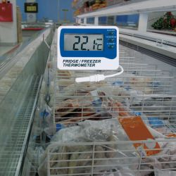 Fridge freezer thermometer - Fridge Alarm Thermometer