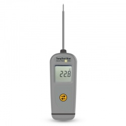 Imagén: TempTest Blue Smart Thermometer with 360 degree rotating display