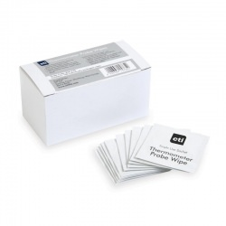 Carton of 100 single sachet probe wipes