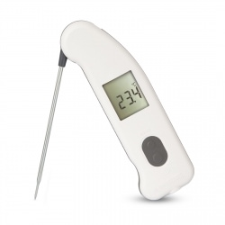 Thermapen IR infrared thermometer with foldaway probe