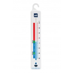 vertical spirit-filled fridge thermometer