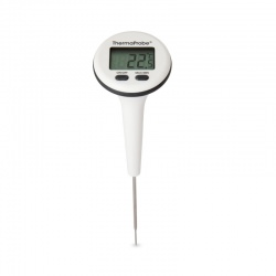 ThermaProbe Waterproof Thermometer with rotating display