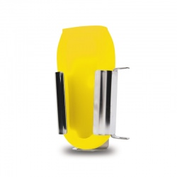 stainless steel wall bracket and yellow boot 832-222