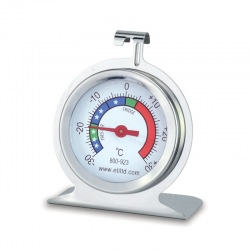 Imagén: stainless steel fridge/freezer thermometer with Ø50 mm dial