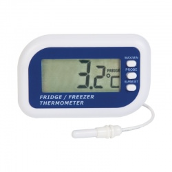 Fridge or Freezer Thermometer with internal sensor & max/min function