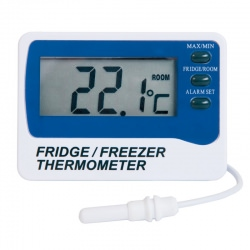 Imagén: Digital fridge/freezer alarm thermometer