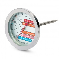 Imagén: large meat thermometer with 60mm dial
