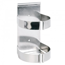 Probe-Wipes wall bracket - stainless steel