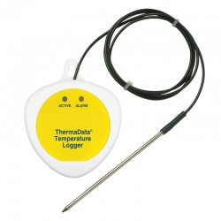 ThermaData® logger TBF data logger, blind with external sensor