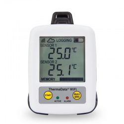 WiFi Data Logger ThermaData TD Wireless with internal sensor