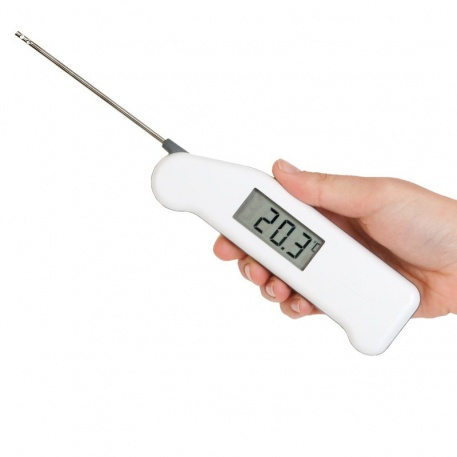 Thermapen® thermometer with air, surface or penetration probe