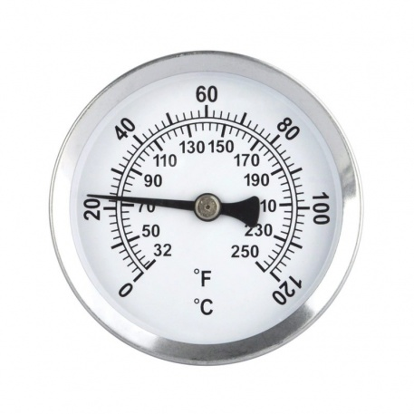 dial surface pipe thermometer