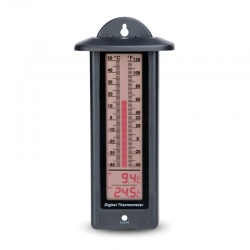 Max Min LCD Bar Graph Thermometer