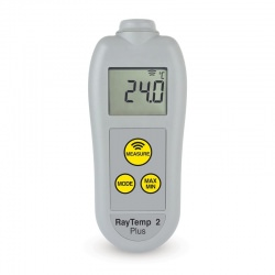 RayTemp 2 Plus infra red thermometer with automatic 360° rotating display