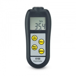 hygrometers - 6100 & 6102 therma hygrometers with interchangeable probes