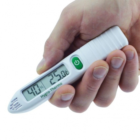 pen-shaped pocket hygrometer thermometer