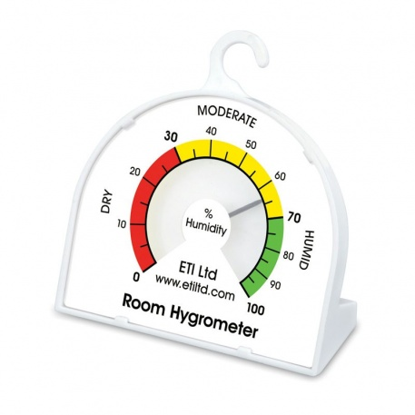 Dial Hygrometer - low cost & easy to read