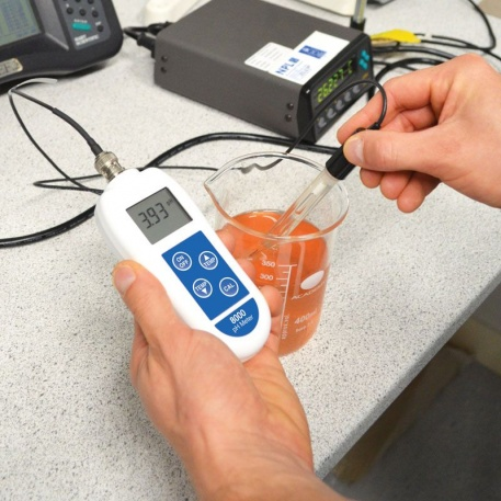 8000 Ph Meter with interchangeable electrode