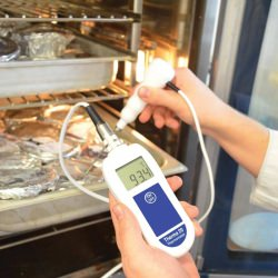Therma 20 thermistor thermometer - HACCP compatible thermometer
