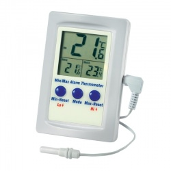 alarm thermometer - max-min and in-out