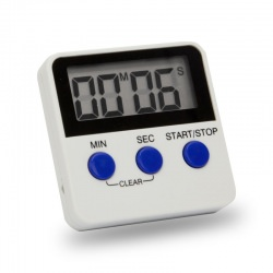 Kitchen oven timer minutes/seconds