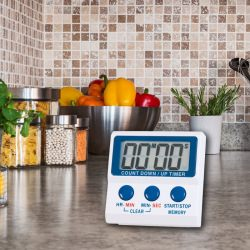 kitchen timers - count-up or count-down